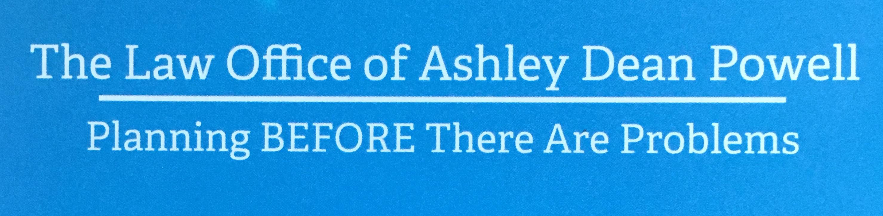 Law Office Of Ashley Dean Powell